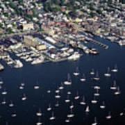 Newport R I Aerial View Art Print