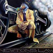 Newton's Law Art Print
