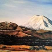 Ngauruhoe Rising Art Print