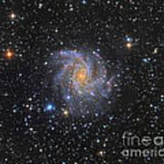 Ngc 6946, The Fireworks Galaxy Art Print