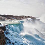 Niagara Falls 4589 Art Print