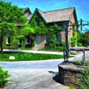 Niagara Falls Botanical Garden Y1 Art Print