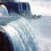 Niagara Falls New York State Art Print
