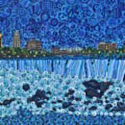 Niagara Falls - Night Art Print