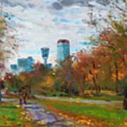 Niagara Falls Park Art Print