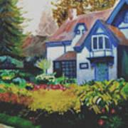 Niagara Garden Art Print