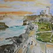 Niagara In Spring Art Print