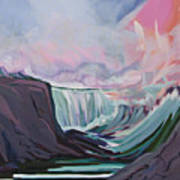 Niagara Thunder 1 Art Print