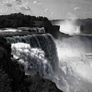 Niagara's Fury Art Print