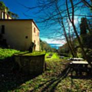 Niasca Hermitage I Portofino Park Passeggiate A Levante Art Print