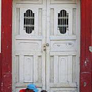 Nicaragua Door 1 Art Print