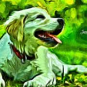 Nice Dog Art Print