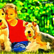 Nice Kids Art Print