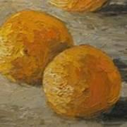 Nice Oranges Art Print