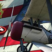 Nieuport 28c Hat In The Ring Art Print