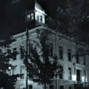 Night At The Court House Art Print