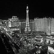 night in Vegas Art Print