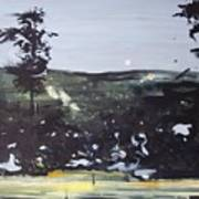 Night Landscape From Documentary Still Art Print