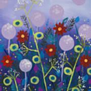 Night Meadow Art Print