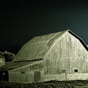 Night On The Farm Art Print