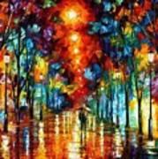 Night Park Art Print