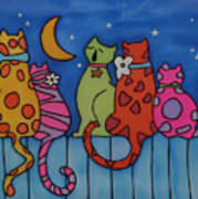 Night Singers   Art Print