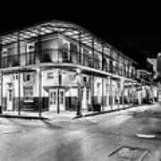 Night Time In The City Of New Orleans I Art Print by Tony Reddington