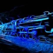 Night Train To Romance Art Print by Aaron Berg