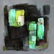 Texture Of Night Painting Art Print
