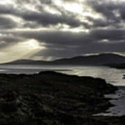 Nightfall Isle Of Harris Art Print