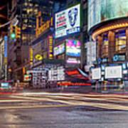 Nights On Broadway Art Print