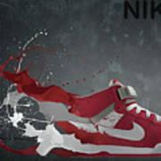 Nike Id Art Print by Tom  Layland
