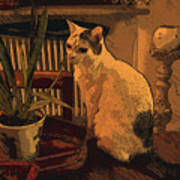 Niko E Il Vaso Art Print