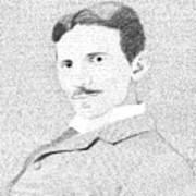 Nikola Tesla In His Own Words Art Print