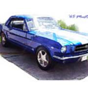 Nineteen Sixty-five Mustang Art Print