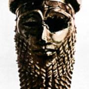 Nineveh: Bronze Head Art Print
