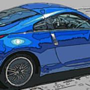 Nissan Z Car Print by Samuel Sheats