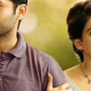 Nithin Samantha A Aa Telugu Movie Art Print