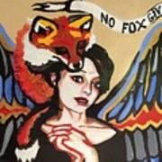 No Fox Given Art Print