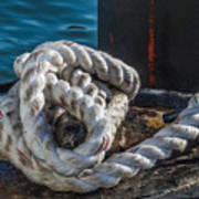 Ship Rope Art Print