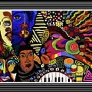 No Slave Songs Art Print
