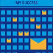 No464 My The Secret Succes Minimal Movie Poster Art Print