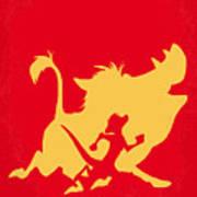 No512 My The Lion King Minimal Movie Poster Art Print