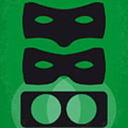No561 My The Green Hornet Minimal Movie Poster Art Print