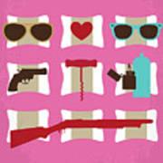No736 My True Romance Minimal Movie Poster Art Print