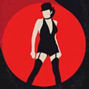 No742 My Cabaret Minimal Movie Poster Art Print