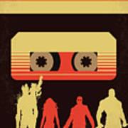 No812 My Guardians Of The Galaxy Minimal Movie Poster Art Print