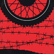 No958 My The Great Escape Minimal Movie Poster Art Print