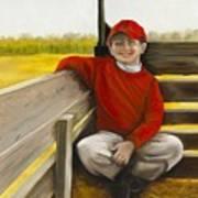 Noah On The Hayride Art Print