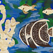 Noah's Aquarium Print by Marsha Heiken